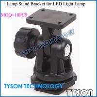 """10pcs Universal 1/4"""" Screw Lamp Stand LED Bracket for LED Light Lamp CN126 CN160 CN70 CN76 Light Holder Black Free Shipping"""