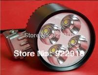 Free Shipping 24W 4*U2 Cree motorcycle led headlight spot beam led light for motorcycle led spot light 12v led spot light