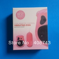 DHL free50pcs/lots sex toy for women cow vibrating egg wireless egg vibrator