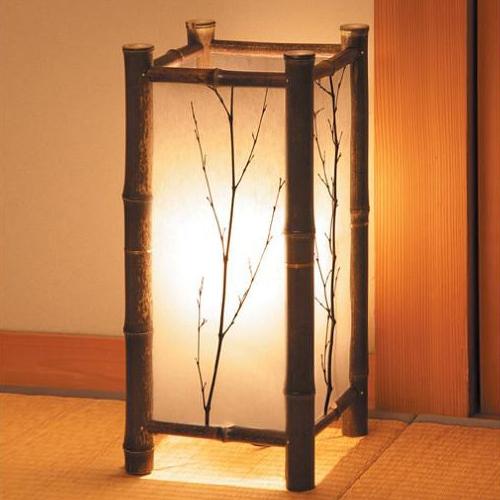 Bamboe lichten kamer vloerlampen lamp japanse stijl lamp tatami lamp bamboe - Japanse stijl kamer ...