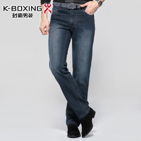 K-boxing male jeans casual trousers new arrival trousers straight men's clothing trousers cqri4145