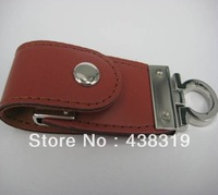 2013 new Genuine leather USB usb flash drive Memory Stick Flash Pen Drive, free shipping