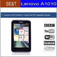 free shipping original tablet phone Lenovo A1010 MTK 8317 Dual Core 7 inch 1024X600 Tablet Pc 3G Phone Android 4.1 1GB/16GB
