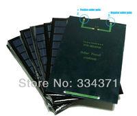 2 Pcs Grade A 3W 9V Epoxy solar panel 125x195mm solar cell panel for DIY solar light solar charger solar kits Freeshipping