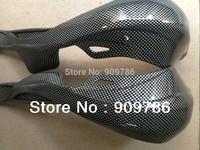 Free shipping !! Imitation carbon fiber ATV Handguards, motocross Gauntlets,Motorcycle Handlebar Brush Guards For KTM motocycles