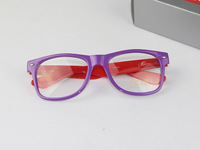 Free Shipping, 2013 New Fashion UNISEX ray style wayfarer design two tone multi-color Sunglasses CH9015