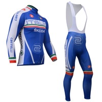 Winter 2013 ITALIA Thermal/Fleece Long Sleeve Fleece Cycling Jerseys+bib pants(or pants)/Cycling Suit/Cycling Wear/-WL13I11