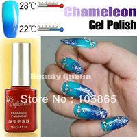 35Colors Temperature Changing Color Gel Polish Chameleon * Perfect Match MOOD Reaction * Soak Off UV LED Gel 2013 NEW FASHION