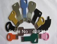 Free shipping  Waterproof Metal Key USB Memory Stick Flash Pen Drive 4GB 32GB memory sticks