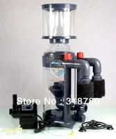 1400L/H Aquarium Hang On External Protein Skimmer 20W  Fish Coral Tank Water Filter w/ Needle Wheel Pump