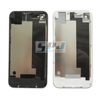 for iphone 4s back cover back housing back panel, black or white ,Free shipping,best quality.