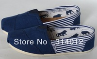 men's classic flats canvas shoes Canvas MEN Shoes Plain Casual Sneakers WITH STRIP