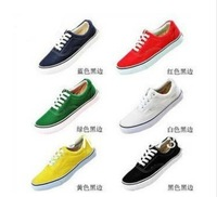 "Classic ""OFF THE WALL"" Canvas Shoes Sneakers Shoe 13 Color and Size 35-45 In stock apSWS003"