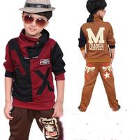 2015 fashion Children's clothing, autumn child clothing, boy child autumn male child sports set, Hot sale