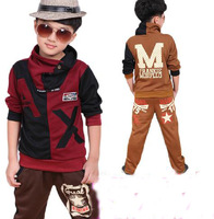 2013 fashion Children's clothing, autumn child clothing, boy child autumn male child sports set, Hot sale