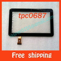 Free shipping touch screen Tablet PC touch panel digitizer TPC0687
