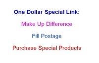 Pay for sample order/Make up the difference/Purchase special products, 1 USD Dollars Special Link