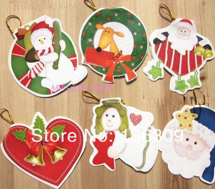 603 Christmas gift ideas Christmas greeting card cartoon card 240(China (Mainland))