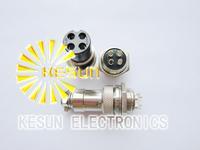 10pair Male & Female Diameter 16mm Wire Panel Connector GX16 4P GX16-4 M16 circular connector Socket Plug