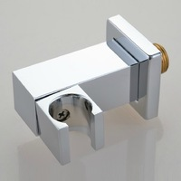 Copper Chrome Wall Mount Shower Holder Bathroom Shower Accessories Size 1/2 Bathroom Accessories Torneira Accessorios Chuveiro