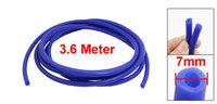 """Car Auto 3.6 Meters Silicone Vacuum Hose Tube 3mm/0.11""""  Inner Diameter Pipe"""