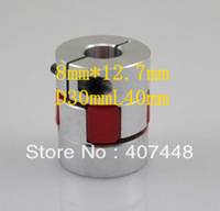 8x12.7mm Jaw Shaft Coupling Spider Flexible Coupler