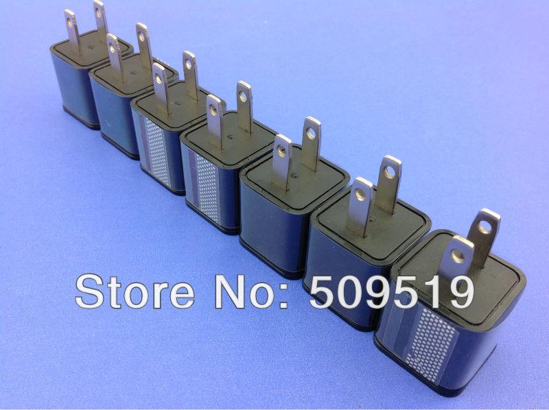 5pcs USA Plug AC Power Wall Charger Micro USB Adapter Universal for Samsung Galaxy S3 III i9100 i9300 Note2 N7100 5pcs/lot(China (Mainland))
