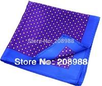 18 COLORS Available! Hot Sale Paisley Pattern Men's Silk Pocket Squares Handkerchief Mens Accessries
