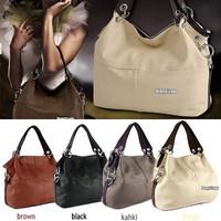 2013 Lady Faux Leather Restore Big Bag Women's Cowhide Handbag Bag Tote Shoulder