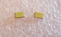 100 pcs 22uf 20V 20% C CASE SURFACE MOUNT TANTALUM CAPACITORS TAJC226M020R AVX