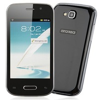 2013 Smart phone MINI 7562 SC6820 3.5 inch Android 2.3 bluetooth Dual Sim unlocked cell phone Free shipping