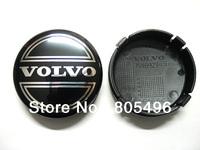 Volvo Wheel Centre Cap C30 C70 S40 S60 S80 V50 V60 V70 XC60 XC90 64mm Black Top Quality 5pcs/lot