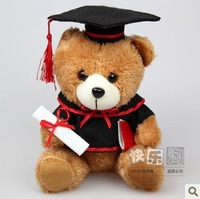 Bachelors Degree bear Graduation Dr. Bear,Teddy Bear Doll,Graduation gift plush toys,Free shipping