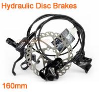 "Hydraulic disc brakes,Bicycle disc brake device and brake disc Rotors MTB bike brake disc Rotors 160mm 6"" free shipping,B179SC"