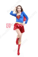 Sexy Super Women Hero Outfit Dress cosplay Partywear Halloween costumes for women fancy dress party clothes adult woman dress
