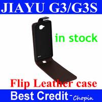 Free shipping fashion design in stock JIAYU G3 MTK6589T flip leather case jiayu g4 g3S pouch case PU flip case for jiayu g3s