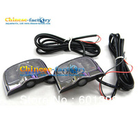 Free Shipping Without drilling 2pcs LED Car Light door laser shadow light
