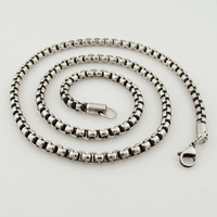 Fashion Stainless steel necklace jewellery, Wholesale free shipping VN132