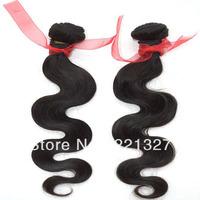 Grade 5A+ loose wavy Virgin cuticle Brazilian hair 2 pcs lot weavings  8-28Inch Avaliable,Free shippment!