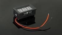 Freeshipping  DC3.2-30V Red Digital Voltmeter Volt Panel Meter red color 50pcs/lot
