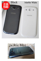 100% Top Quality Guarantee for Samsung i9300 Galaxy S3 Battery Back Cover Housing Black White by AM DHL EMS(1PC)