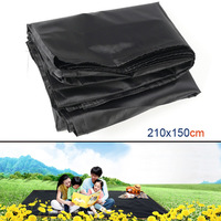 210 x 150cm Portable Oxford Cloth Mat Picnic Mat Moistureproof Mat Children Crawling Pad