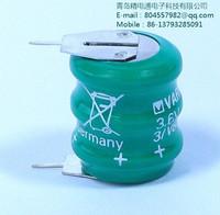 VARTA battery 3 / V80H 2 pin (two feet) 3.6 V / 70 mah