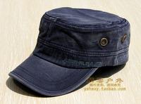 Cadet cap casual spring and summer hat male 100% cotton sun hat sunbonnet cap m130