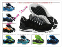 9 Colors Free Shipping 2013 Mens Lunarglide + 5 Running Shoes Top Quality Mens Sneakers Shoes euro 40-45