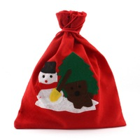 1pc of Christmas Xmas 25*30cm Snowman Picture Printing Candy Gift Bags 62517