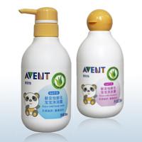 Avent baby shower gel shampoo set shower shampoo compounding filling milk bath shampoo
