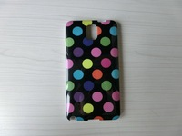 Candy Polka Dot Wave Point Style Design Soft TPU Cover POLKA DOT GRIP CASE TPU Case FOR SAMSUNG GALAXY Note 3 N9000