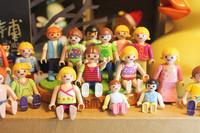 Freeshipping To World 20 pcs New 2013 Fashion toys Popular minion dolls plastic girls' gift toys,style mix order #3000