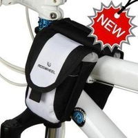 New 5 Colors Cycling Mountain Bike Saddle Bag Bicycle Front Tube Bag Pouch Phone package